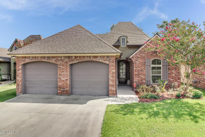 Lafayette Single Family Home For Sale: 504 Lafittes Landing Pass