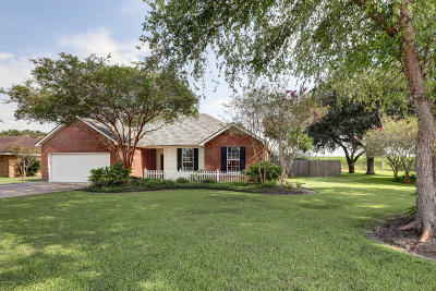 Youngsville Single Family Home For Sale: 620 Almonaster Road