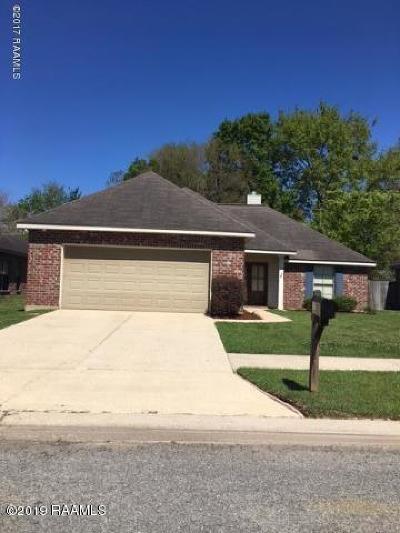 Lafayette Rental For Rent: 507 Lodge Drive