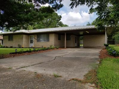 New Iberia Single Family Home For Sale: 702 Yvonne St