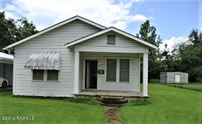 New Iberia Single Family Home For Sale: 318 Frederick Street