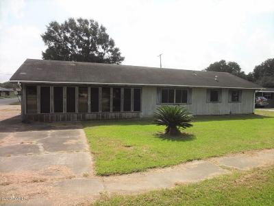 Jennings Single Family Home For Sale: 1510 N Cutting Avenue