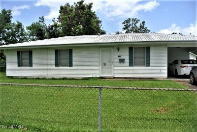 New Iberia Single Family Home For Sale: 320 Frederick Street