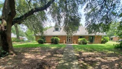 Ville Platte Single Family Home For Sale: 1103 W Wilson Street