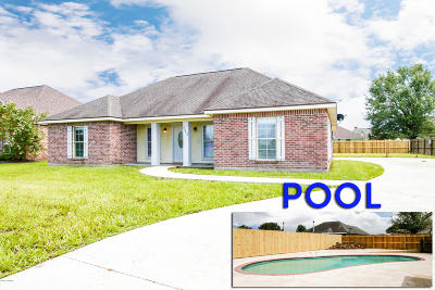 New Iberia Single Family Home For Sale: 513 Quence Drive