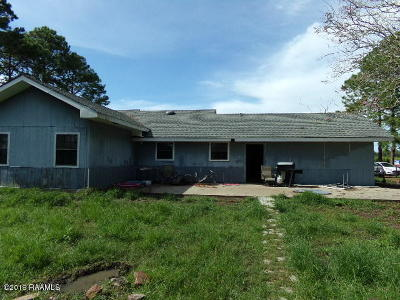 Iberia Parish Single Family Home For Sale: 7401 Hwy 14