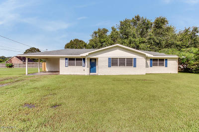 New Iberia Single Family Home For Sale: 7509 Loreauville Road
