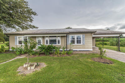 Single Family Home For Sale: 3792 Catahoula Hwy