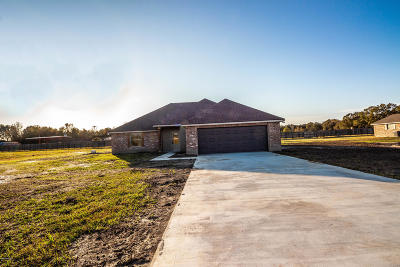 Opelousas Single Family Home For Sale: 134 Jaylon Drive