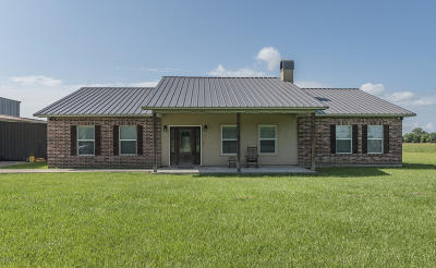 Opelousas Single Family Home For Sale: 852 Charles Fisher Road