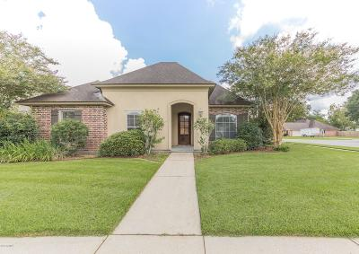 broussard Single Family Home For Sale: 100 Marquee Drive