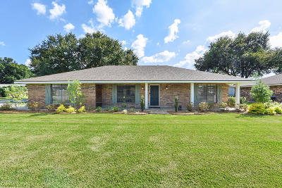 broussard Single Family Home Active/Contingent: 503 Patrick Drive
