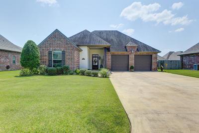 Iberia Parish Single Family Home For Sale: 3308 Chuggie Lane