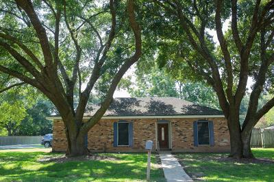 Lafayette  Single Family Home For Sale: 201 Amanda Drive