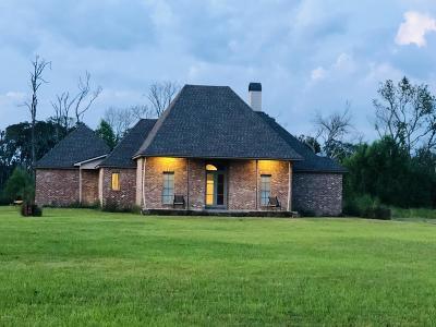 Iberia Parish Single Family Home For Sale: 3517 Vida Shaw Road