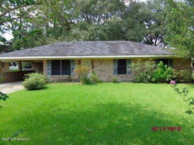 Iberia Parish Single Family Home For Sale: 316 Caroline Street