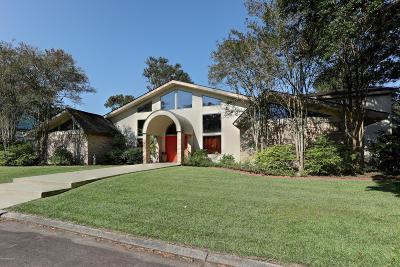 Iberia Parish Single Family Home For Sale: 16 Duperier Oaks Drive