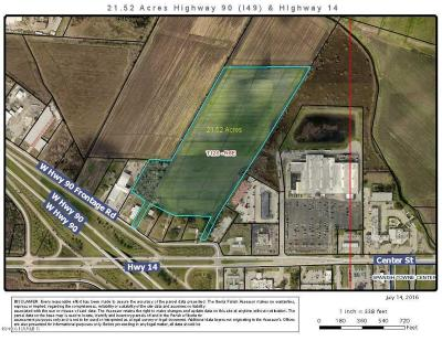 Iberia Parish Commercial Lots & Land For Sale: 704 W Hwy 90