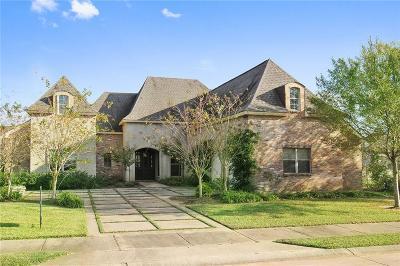 Alexandria Single Family Home For Sale: 6318 Audubon Oaks