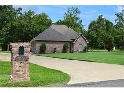 Natchitoches Single Family Home For Sale: 112 Lakefront