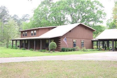 Pineville Single Family Home For Sale: 594 Elmus Paul Road