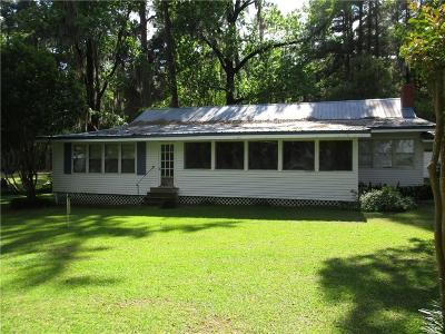 Campti, Clarence Single Family Home For Sale: 669 Sandy Point Road