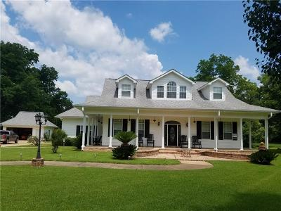 Natchez Single Family Home For Sale: 3014 Hwy 484