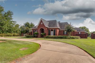 Alexandria Single Family Home For Sale: 6424 Moody Oaks