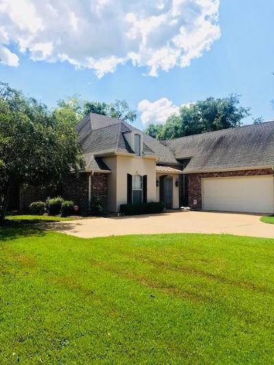 Alexandria Single Family Home For Sale: 6513 Bayou Crossing
