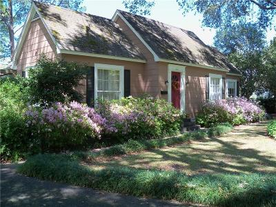 Natchitoches Single Family Home For Sale: 1326 Williams Avenue