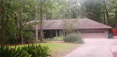 Woodworth Single Family Home For Sale: 1260 Lake Drive