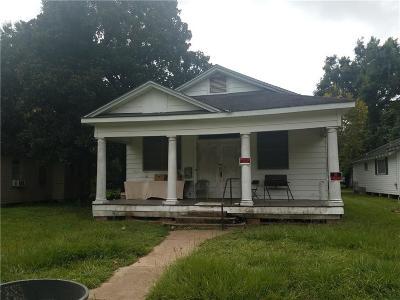Alexandria LA Single Family Home For Sale: $25,000