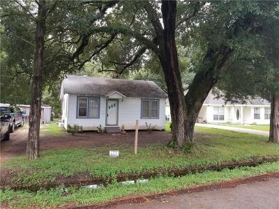 Alexandria LA Single Family Home For Sale: $55,000
