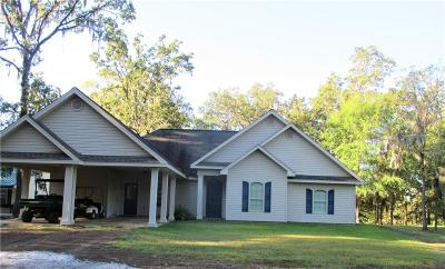 Single Family Home For Sale: 125 Camp Allen Road