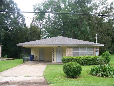 Natchitoches LA Single Family Home For Sale: $59,000