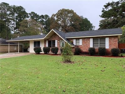 Ball Single Family Home For Sale: 1224 Oriole Lane