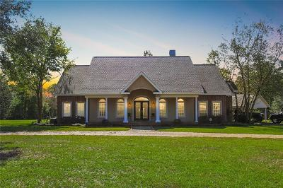 Pineville Single Family Home For Sale: 52 Credeur Road