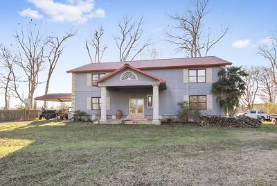 Single Family Home For Sale: 1638 Palmer Chapel Road