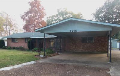 Alexandria LA Single Family Home For Sale: $119,900