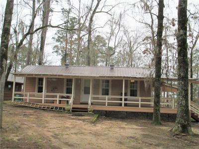 Winnfield LA Single Family Home For Sale: $65,000