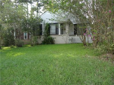 Pineville Single Family Home For Sale: 1605 Donahue Ferry Road