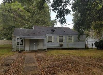 Alexandria LA Single Family Home For Sale: $25,500