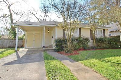 Alexandria LA Single Family Home For Sale: $135,000
