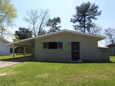 Alexandria LA Single Family Home For Sale: $79,500