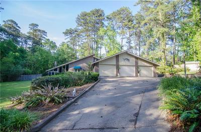Pineville Single Family Home For Sale: 550 Hiawatha Trail