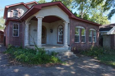 Alexandria LA Single Family Home For Sale: $64,900