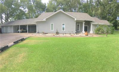 Alexandria Single Family Home For Sale: 6596 Bayou Rapides Road