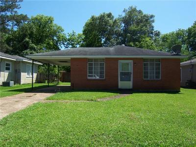 Alexandria LA Single Family Home For Sale: $75,000