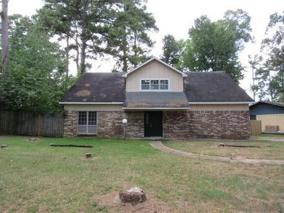 Shreveport LA Single Family Home For Sale: $125,000