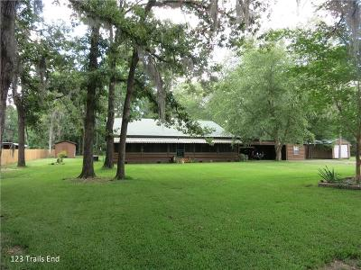 Winnfield Single Family Home For Sale: 123 Trails End Road